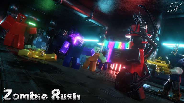 2021 Scary Roblox game -Zombie Rush