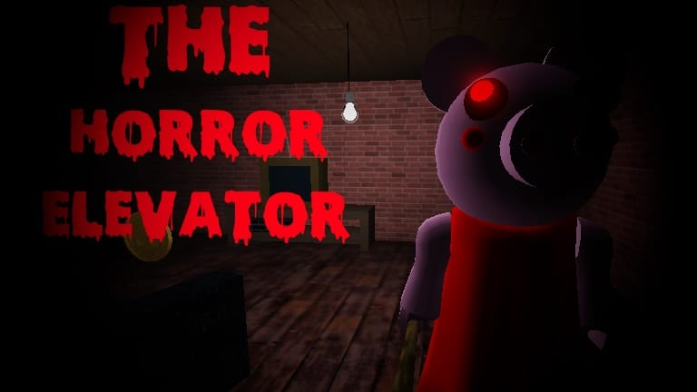 The Horror Elevator - Roblox scary game