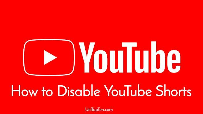 How to disable Youtube Shorts in Youtube app