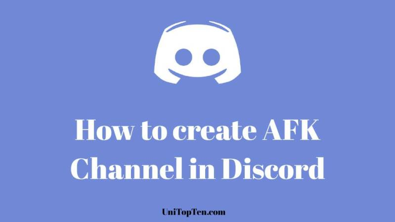Create AFK Channel in Discord