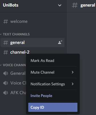 Discord Channel ID