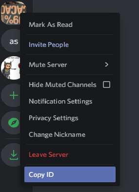 Find Discord Server ID on PC