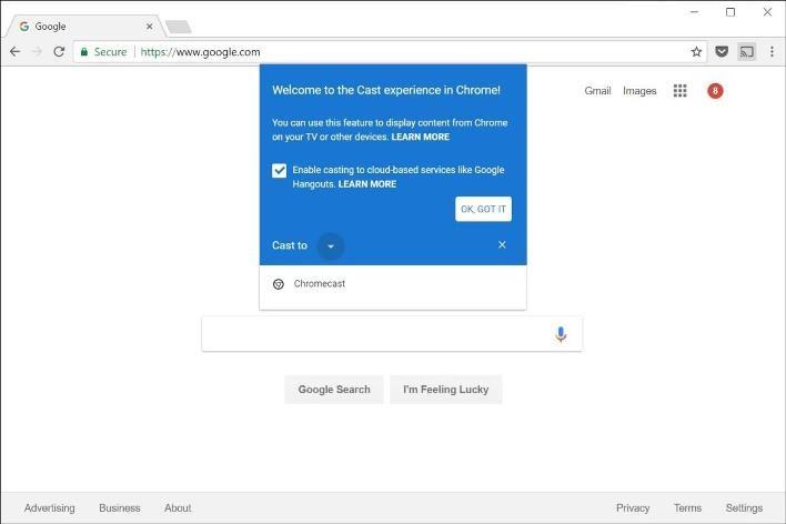 How to cast Pluto TV to TV with Chromecast using PC