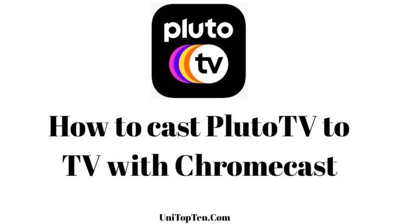 How to cast Pluto TV to TV with Chromecast
