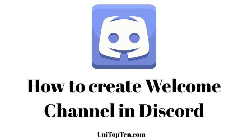 How to create Welcome Channel in Discord
