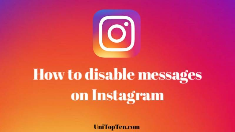 How to disable messages on Instagram