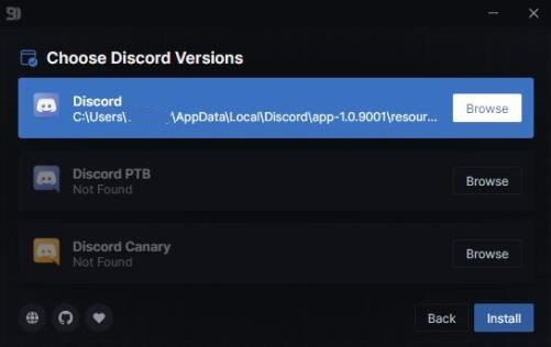 make Discord Transparent