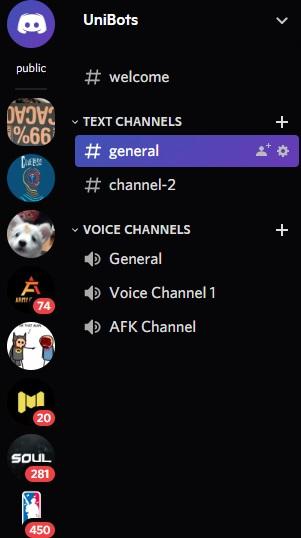 How to set emoji in Discord Channel description