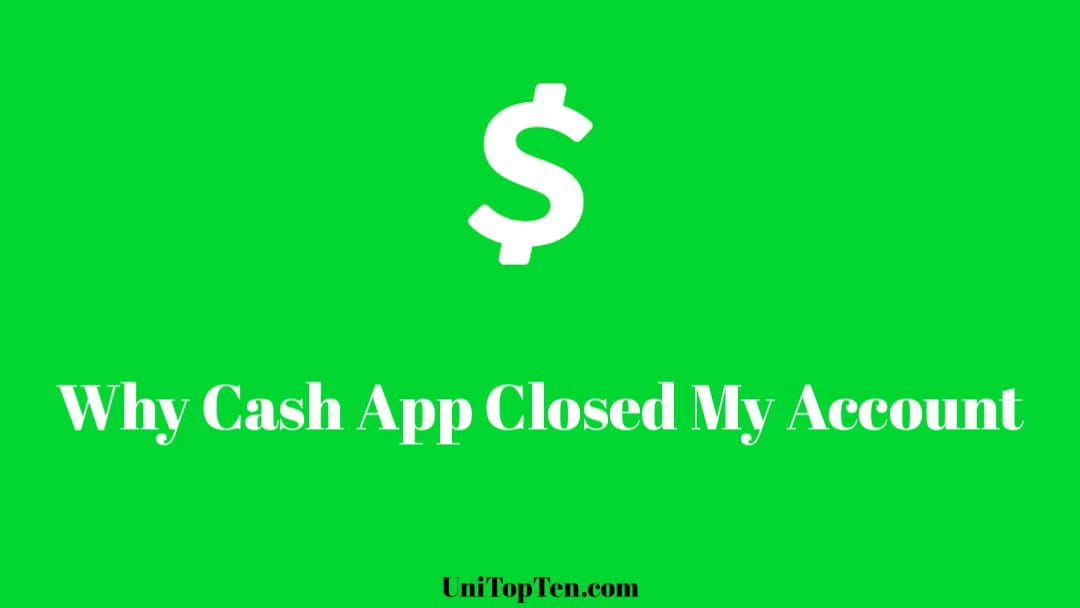 Why Cash App Closed My Account