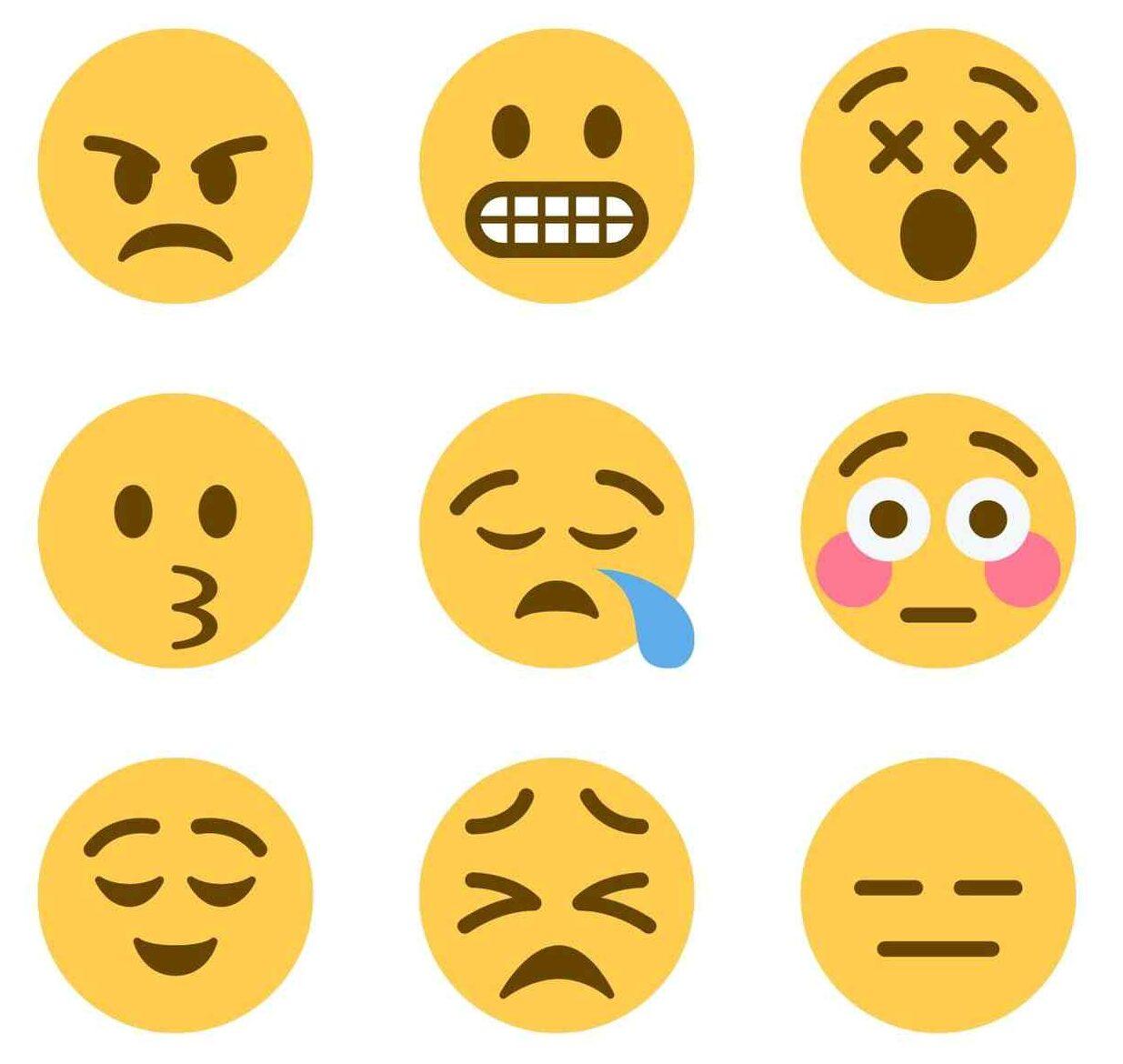Yellow emojis