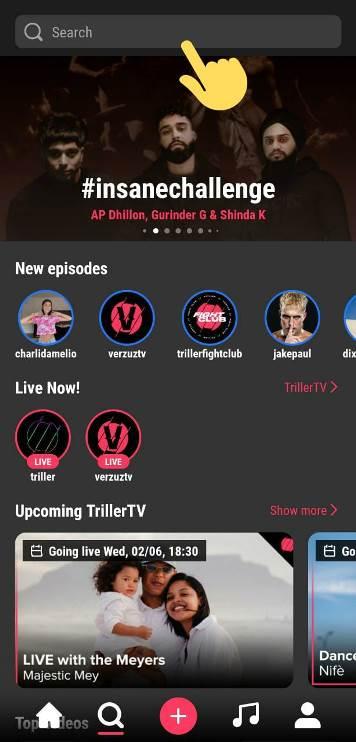 save Triller videos in gallery