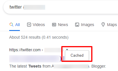 see deleted tweets Google-Search