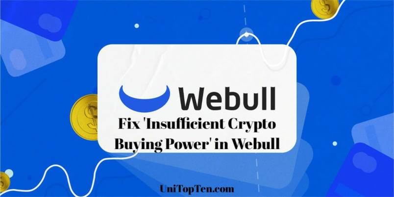 Fix 'Insufficient Crypto Buying Power' Webull