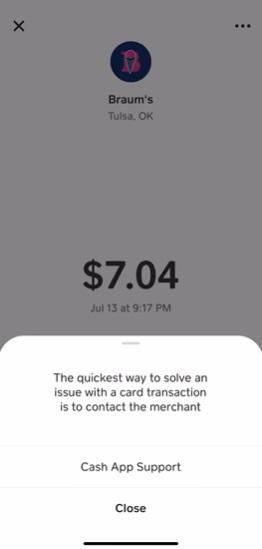 How to Dispute Cash App Transaction