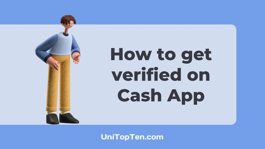 How to get verified on Cash App