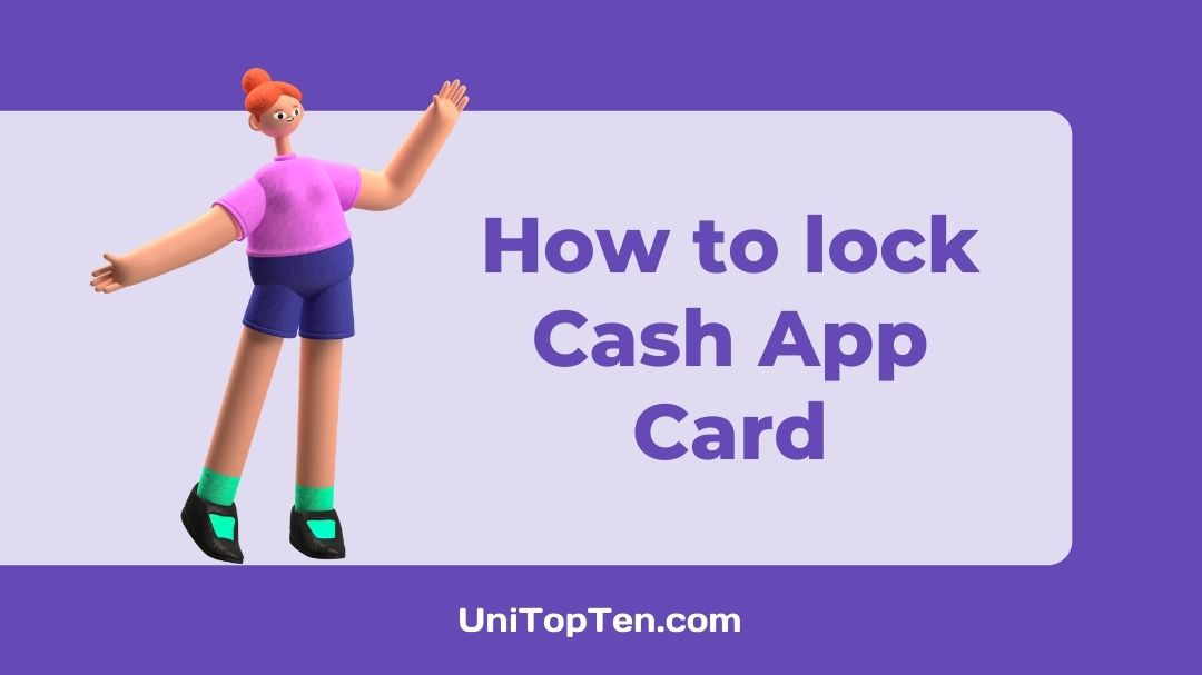 How to lock Cash App Card or Deactivate