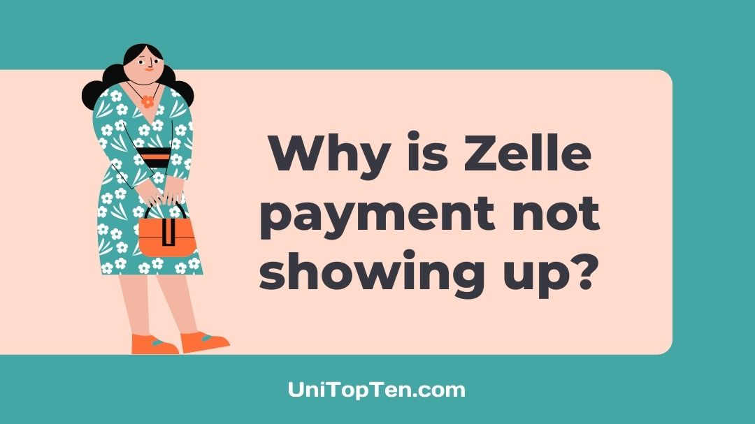 Zelle payment not showing up