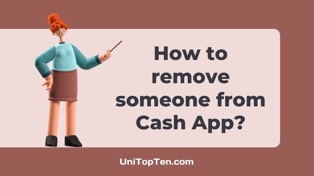 How to remove someone from Cash App