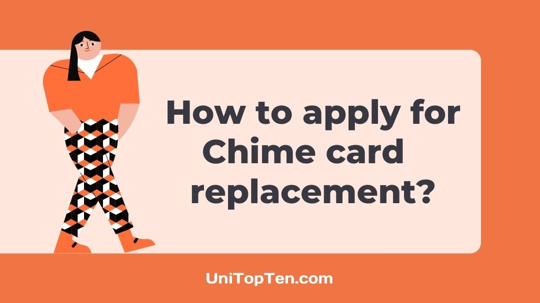 Chime credit builder card replacement
