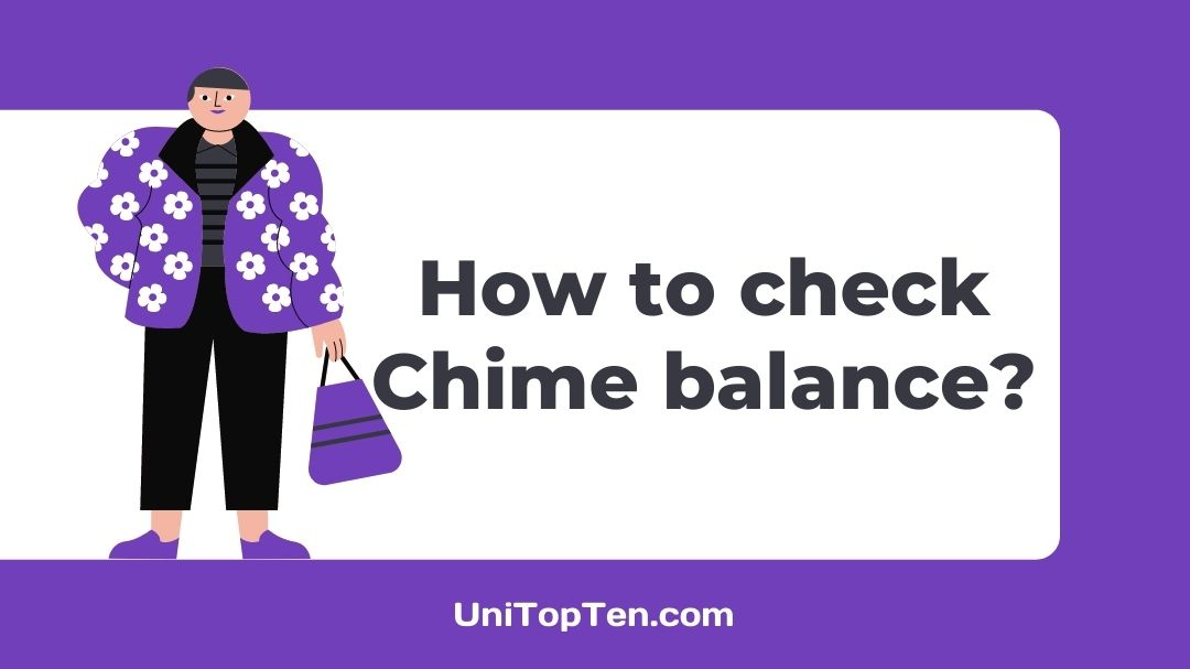 How to check Chime balance