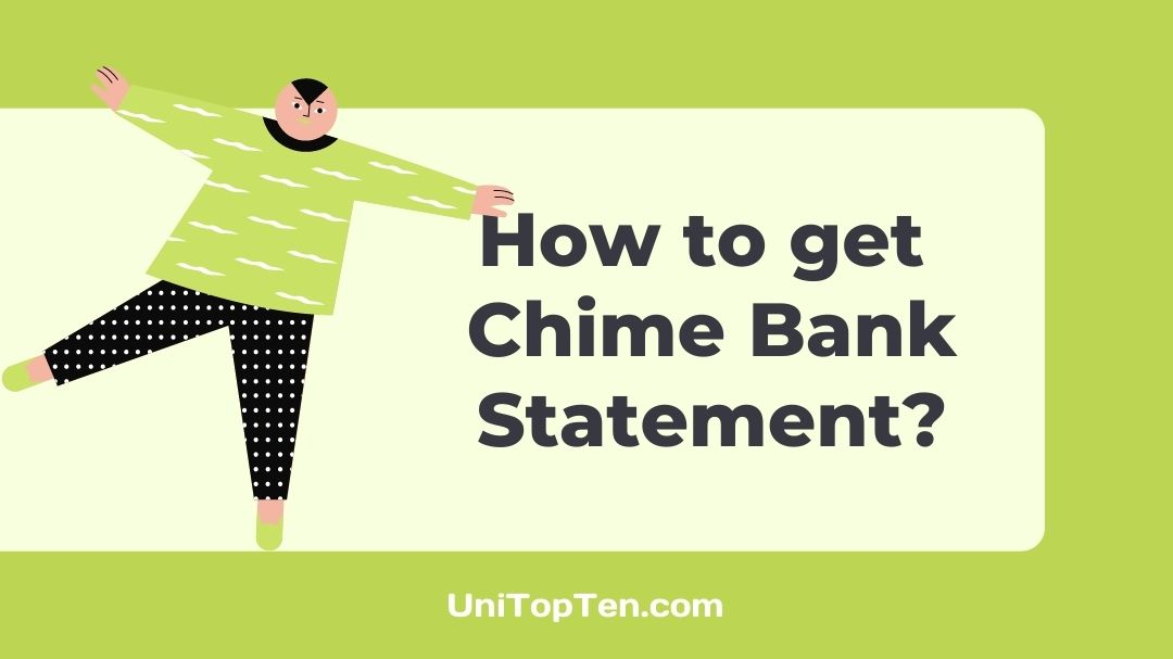 How to get Chime Bank Statement