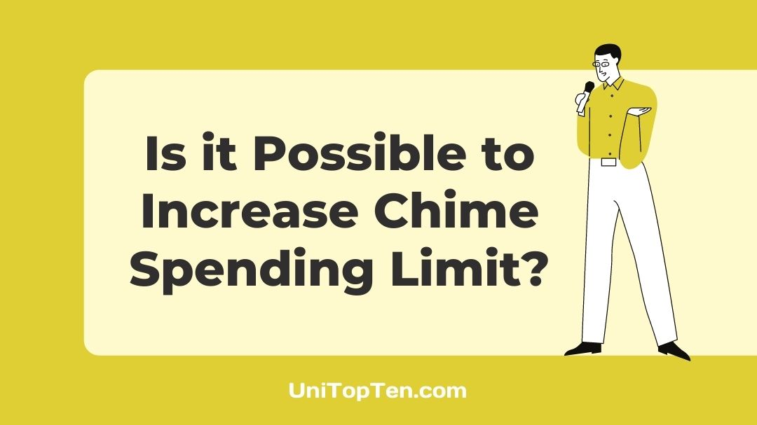 Increase Chime Spending Limit