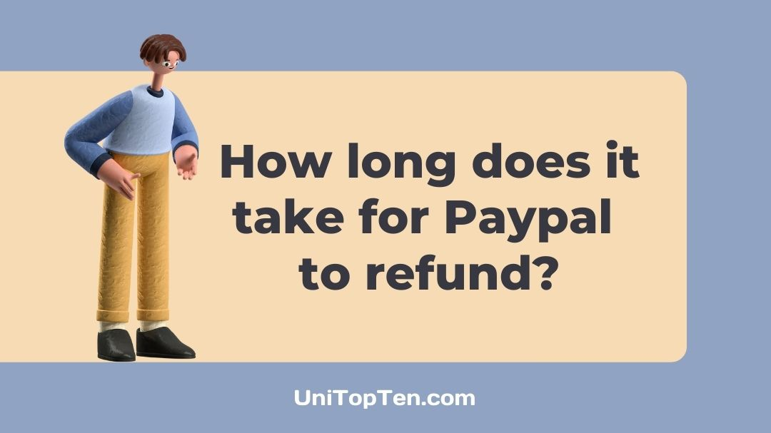 How long does it take for Paypal to refund